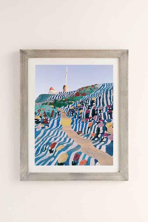Kevin Russ Salvation Staircase Art Print,GREY BARNWOOD,18X24