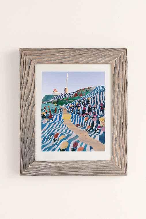 Kevin Russ Salvation Staircase Art Print,BUFF BARNWOOD,30X40
