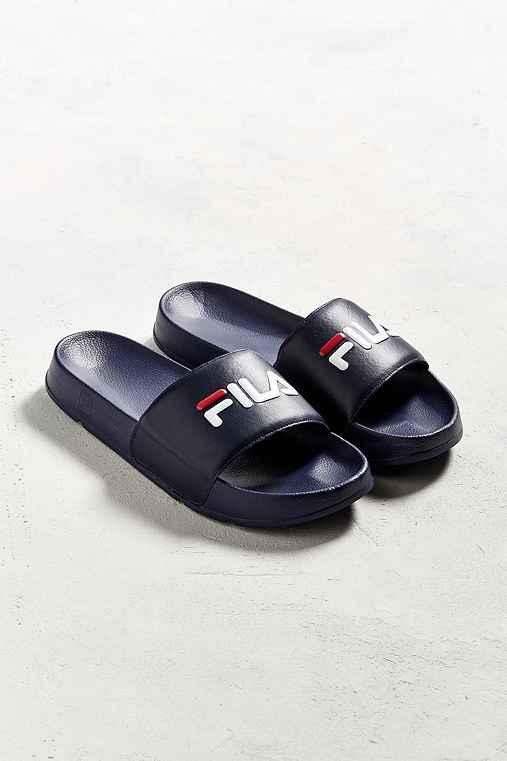FILA Sport Slide Sandal,NAVY,11