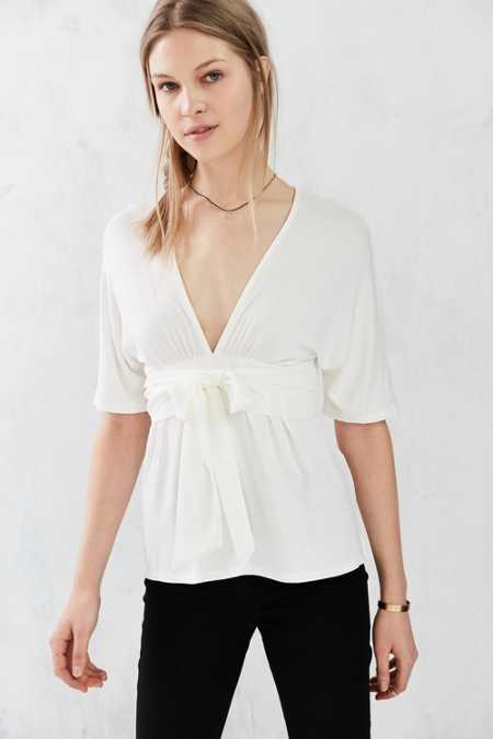 Silence + Noise Lea Belted Top