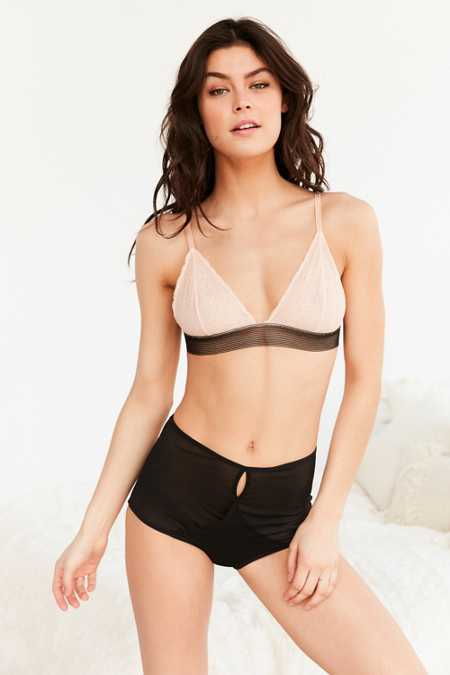 Out From Under Jade Mesh High-Waisted Undie