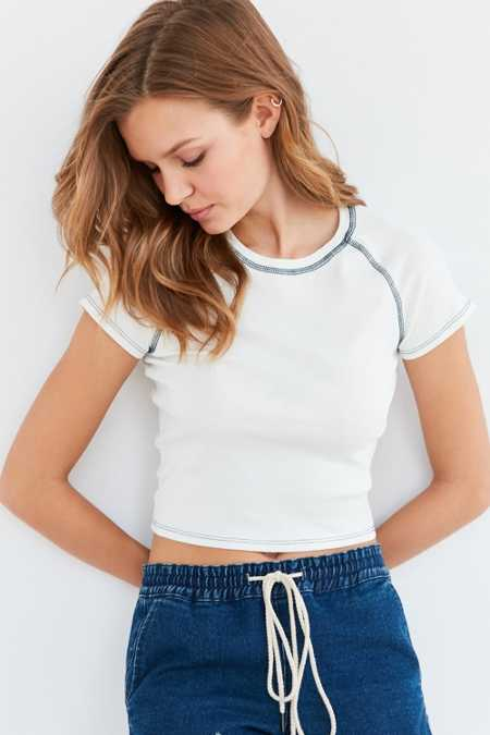 Project Social T Leigh Cropped Tee