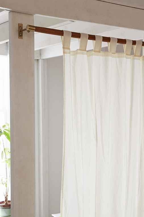 Mid Century Modern Wooden Curtain Rod Urban Outfitters
