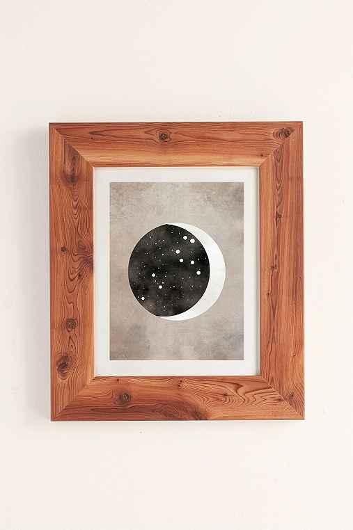 Claire Goodchild Moon & Stars Leo Art Print,CEDAR,40X60