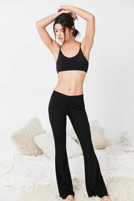Out From Under Ribbed Flare Pant