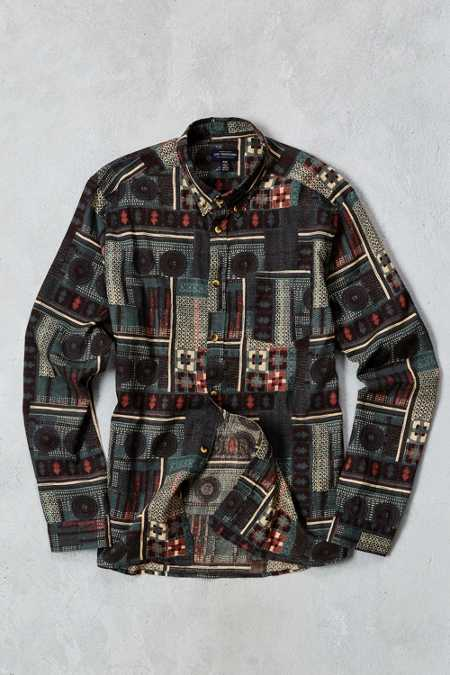 CPO Printed Button-Down Shirt