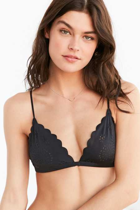 Out From Under Lily Laser-Cut Micro Triangle Bra
