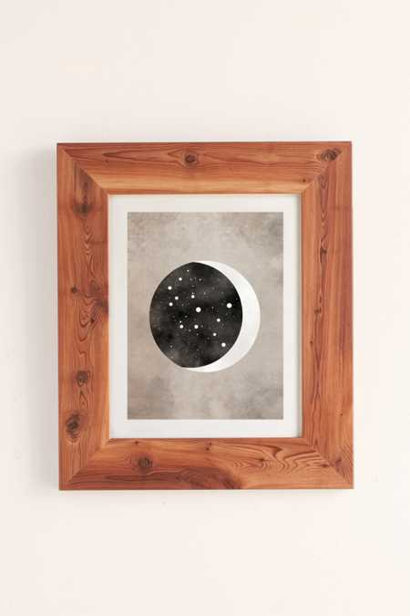 Claire Goodchild Moon & Stars Virgo Art Print