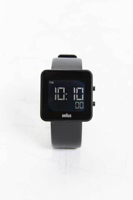Braun Square Digital Watch