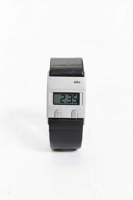 Braun Square 24hr Digital Watch