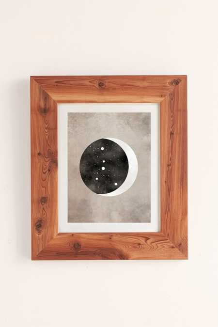 Claire Goodchild Moon & Stars Cancer Art Print