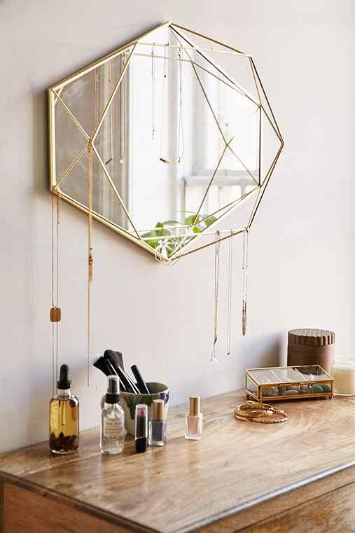 Umbra Prisma Mirror,GOLD,ONE SIZE