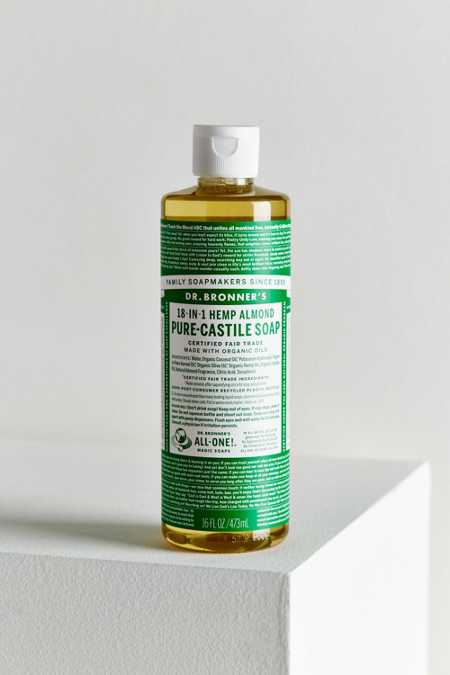 Dr. Bronner's Pure-Castile Large Liquid Soap