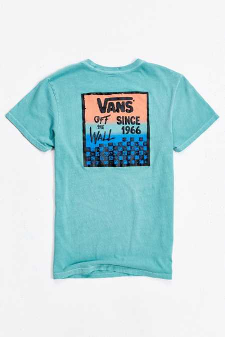 Vans Checked In Tee