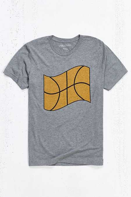Valley Cruise Press X Eivind Molvaer Basketball Flag Tee