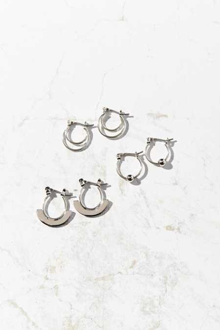 Right Now Hoop Earring Set