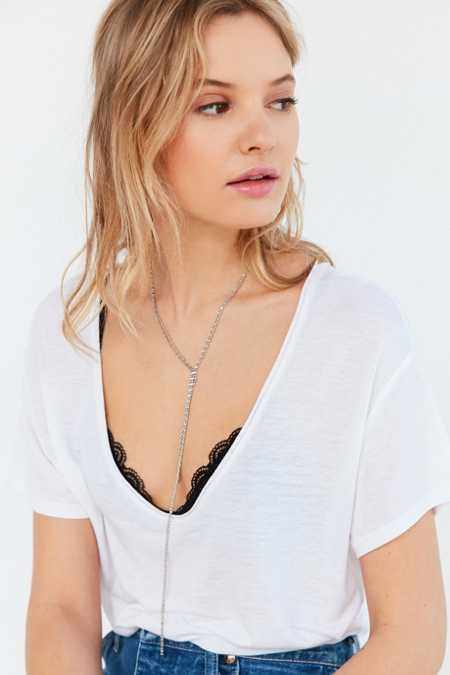 Pebble Beach Lariat Necklace
