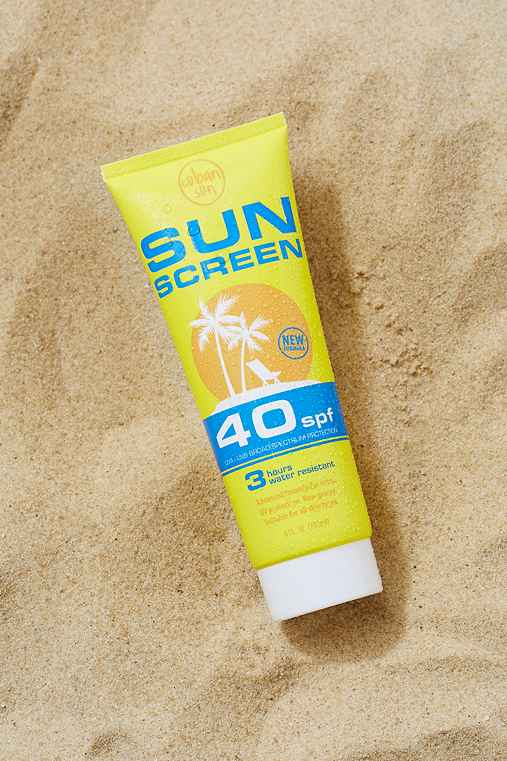 Sunscreen Flask,YELLOW,ONE SIZE