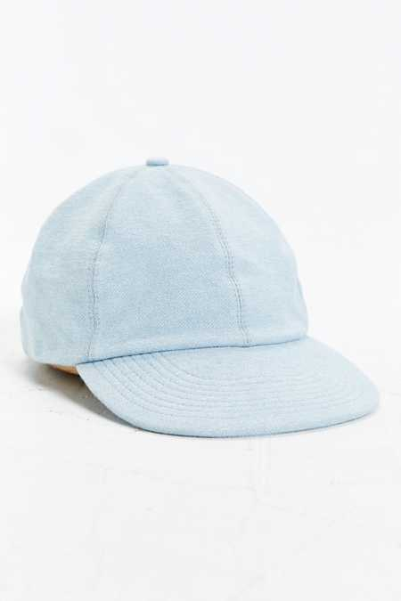 UO Deconstructed Denim Baseball Hat