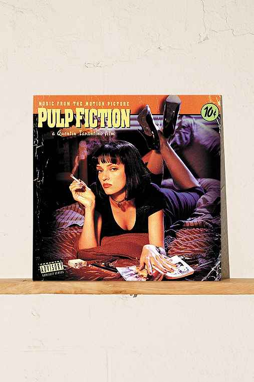 Various Artists - Pulp Fiction: Music From The Motion Picture LP,BLACK,ONE SIZE