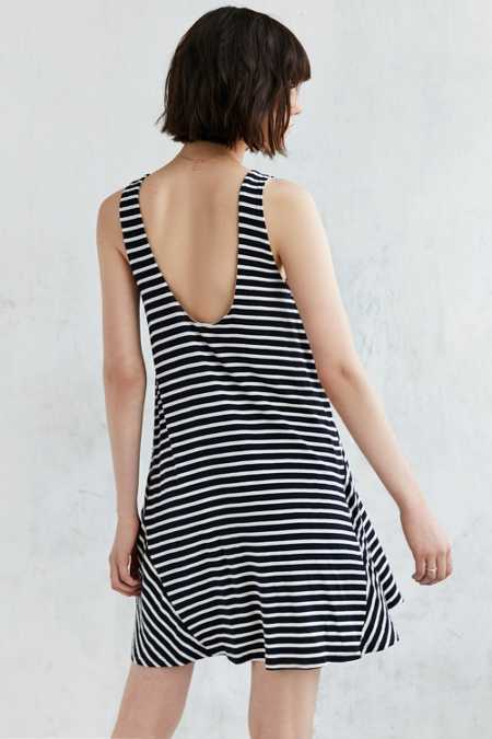 BDG Stripe Scoopback Tank Dress