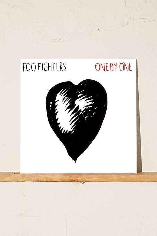 Foo Fighters - One By One LP,BLACK,ONE SIZE