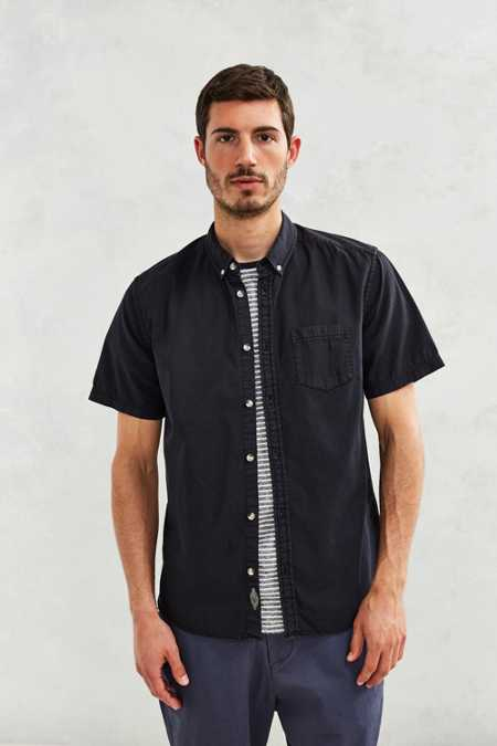 CPO Washed Short-Sleeve Dress Shirt