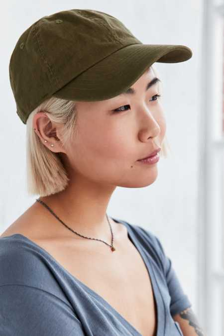 UO Washed Canvas Baseball Hat