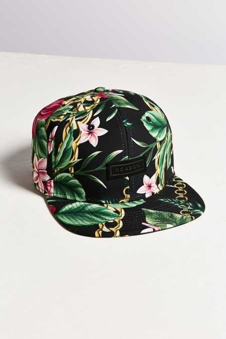 Reason Hawaii Snapback Baseball Hat