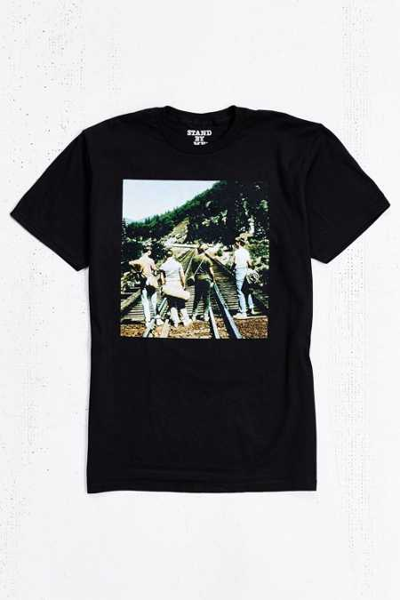 Stand By Me Train Tracks Tee