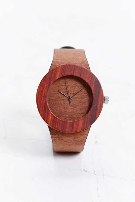 Analog Makore & Red Sanders Watch