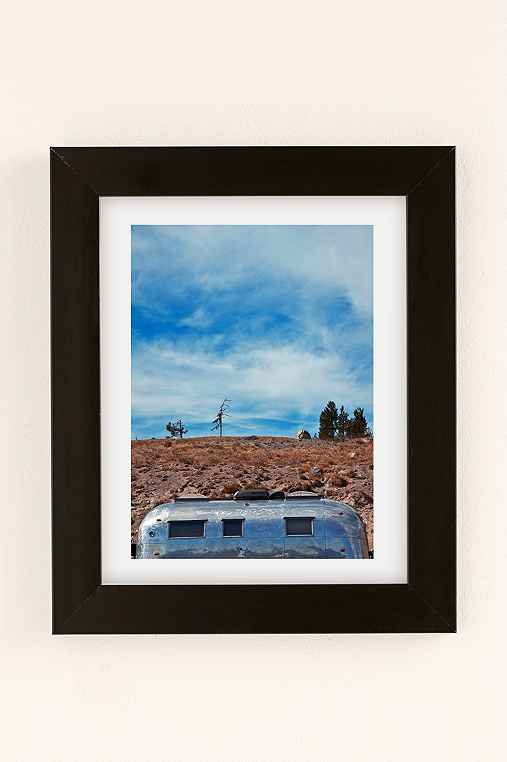 Carey Quinton Haider On The Road: Mt. Hood Oregon Art Print,BLACK MATTE FRAME,30X40
