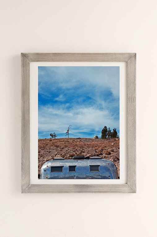 Carey Quinton Haider On The Road: Mt. Hood Oregon Art Print,GREY BARNWOOD,18X24