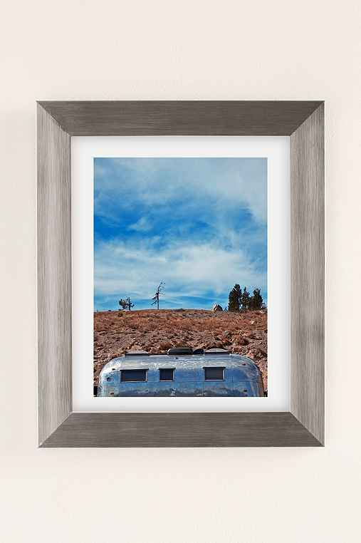 Carey Quinton Haider On The Road: Mt. Hood Oregon Art Print,SILVER MATTE FRAME,13X19