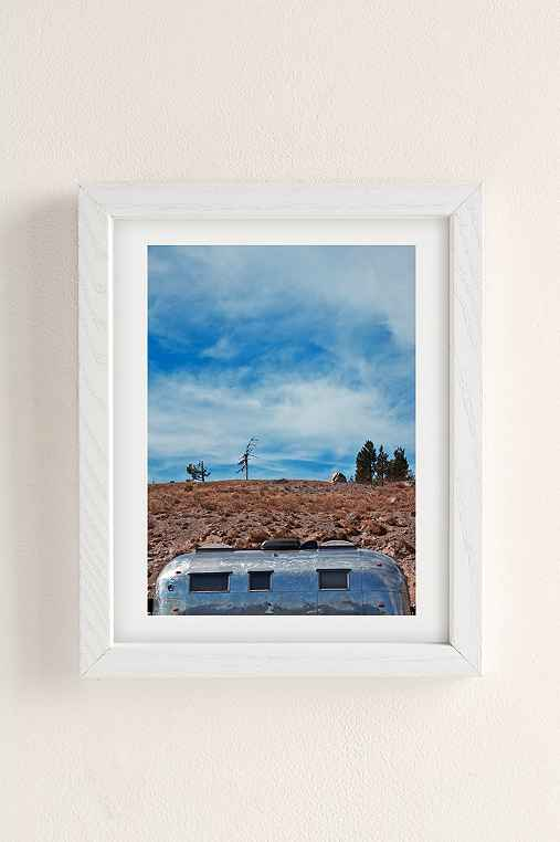 Carey Quinton Haider On The Road: Mt. Hood Oregon Art Print,WHITE WOOD FRAME,8X10