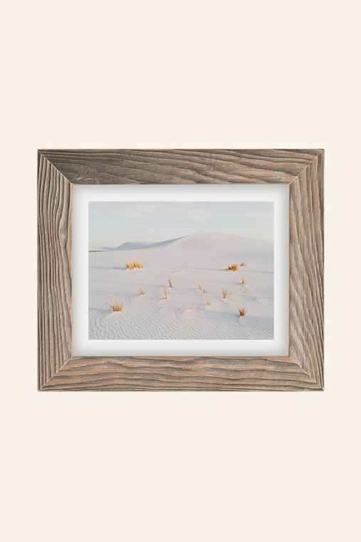 Kevin Russ White Sands Art Print,BUFF BARNWOOD,13X19