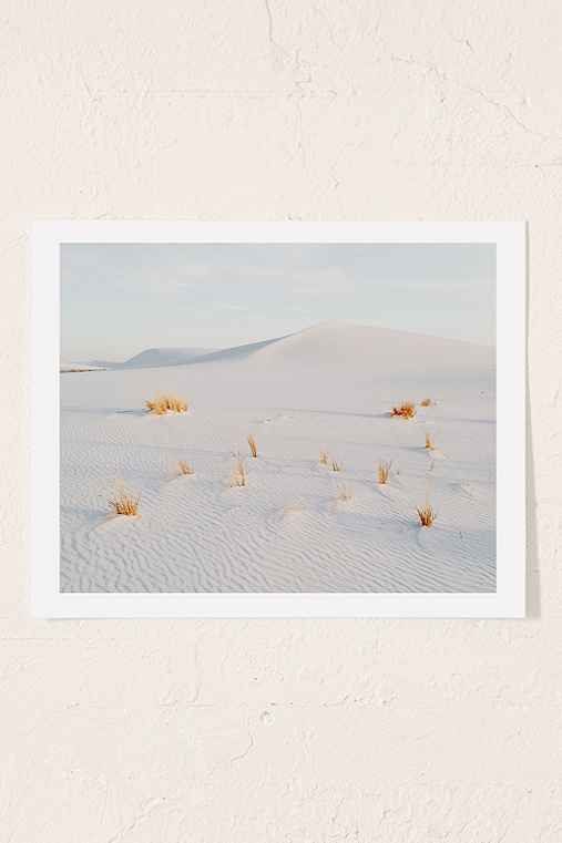 Kevin Russ White Sands Art Print,NO FRAME,30X40