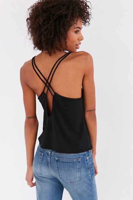 Silence + Noise Tessa Strappy Back Cami
