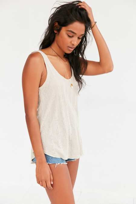Project Social T Blaize Double Scoop Tank Top