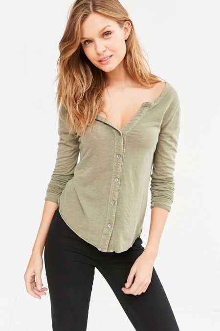 Truly Madly Deeply Rory Button-Down Shirt