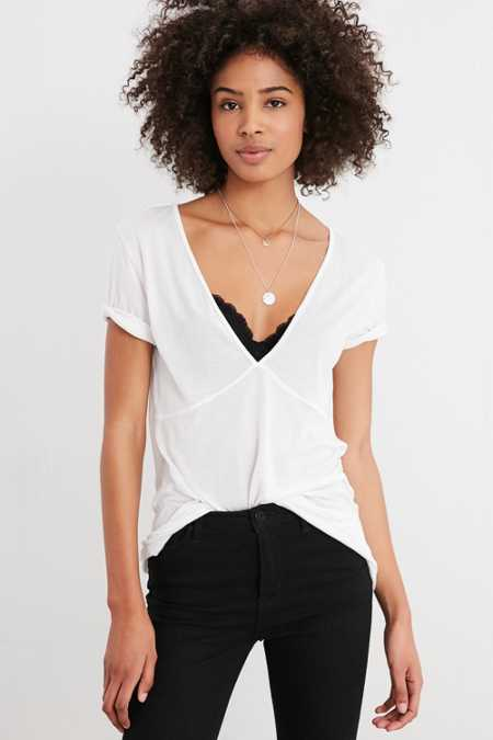Truly Madly Deeply Eva Deep-V Top