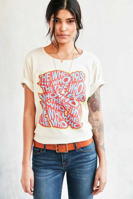 Junk Food The Who Tee