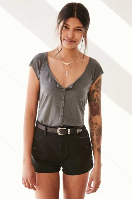Truly Madly Deeply Liv Henley Tee