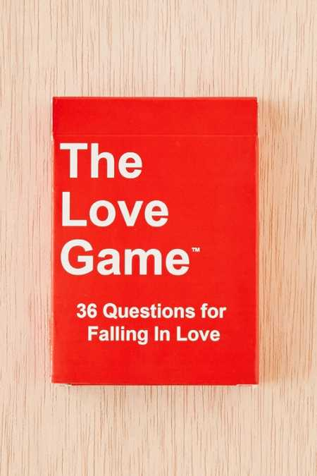 The Love Game™: 36 Questions For Falling In Love