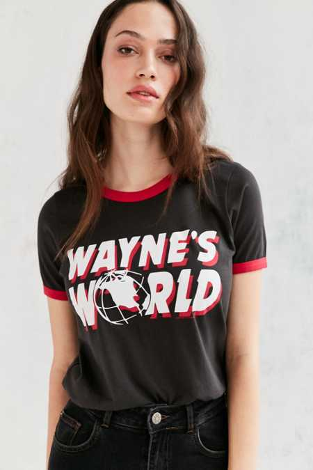 Junk Food Wayne's World Ringer Tee