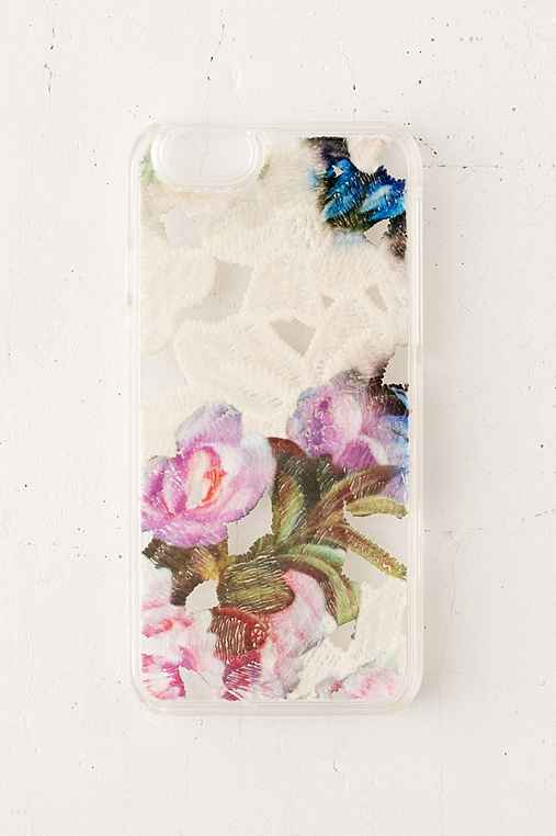 Watercolor Lace iPhone 6/6s Case,WHITE,ONE SIZE