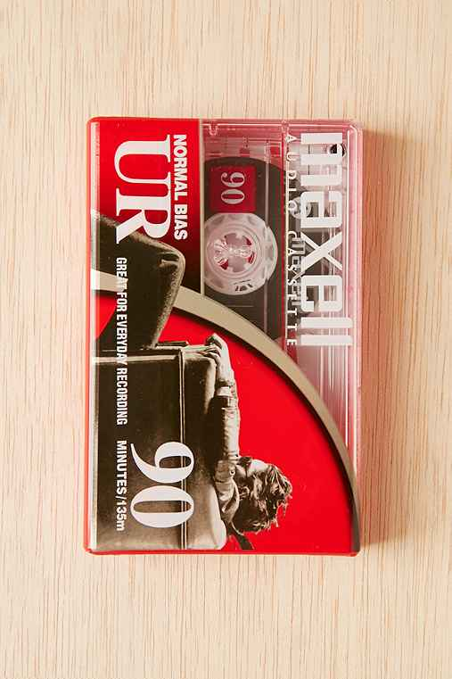Blank Cassette Tape,CLEAR,ONE SIZE