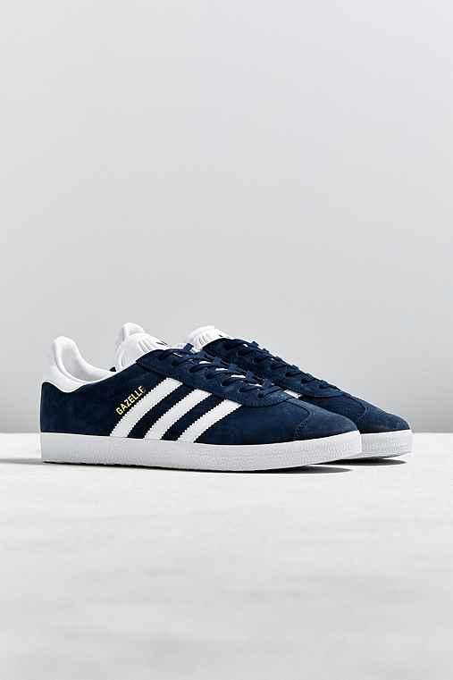 adidas Gazelle Sneaker,BLUE,M 8/W 9.5