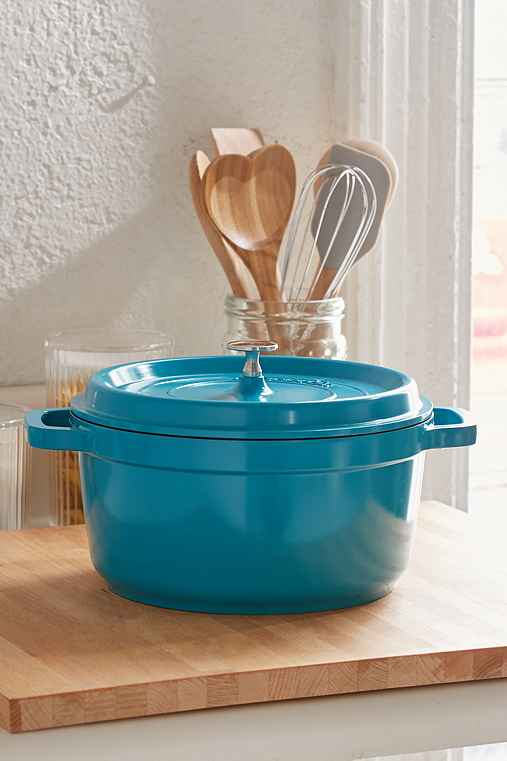 5-Qt Dutch Oven,BLUE,ONE SIZE