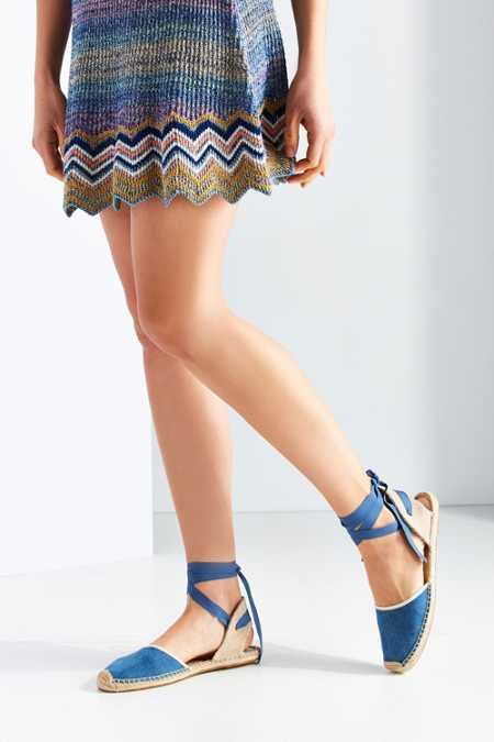 Soludos Classic Vintage Denim Sandal